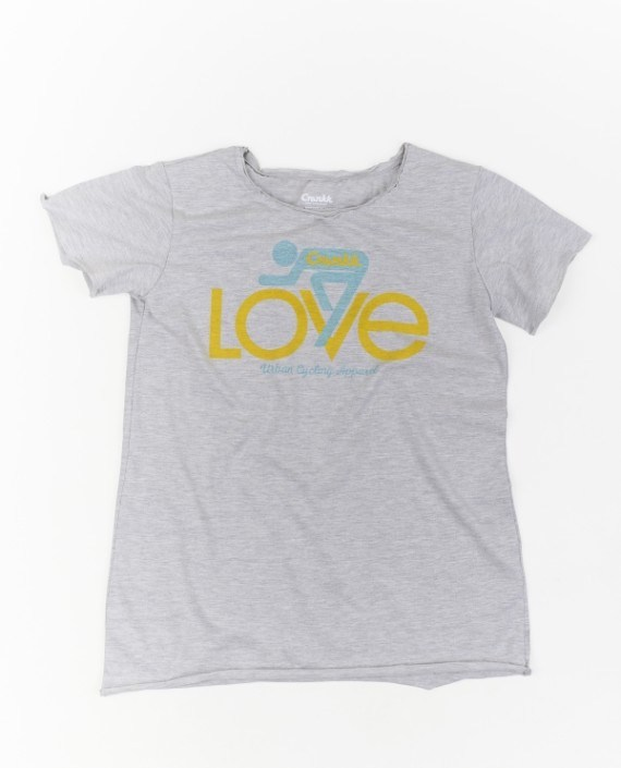 LOVE T-Shirt Grey – For Her