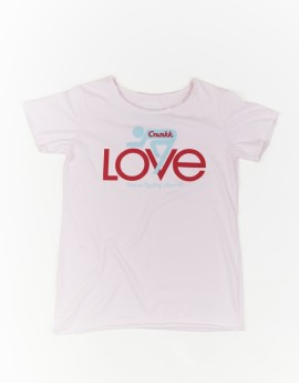 LOVE T-Shirt Pink – For Her