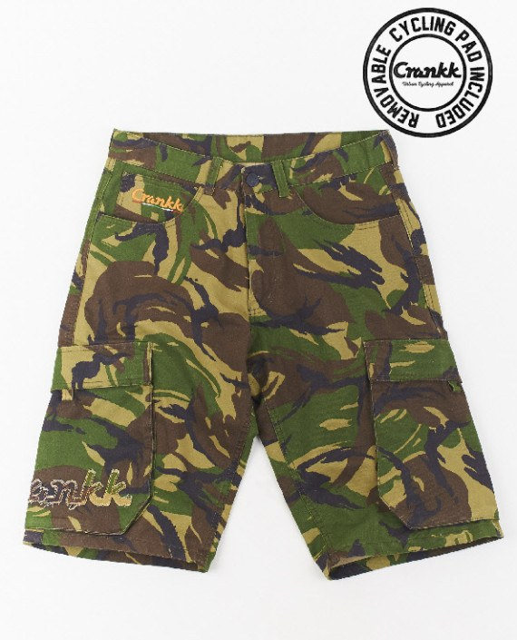 DRAAI Cargo Shorts Camouflage – For Him