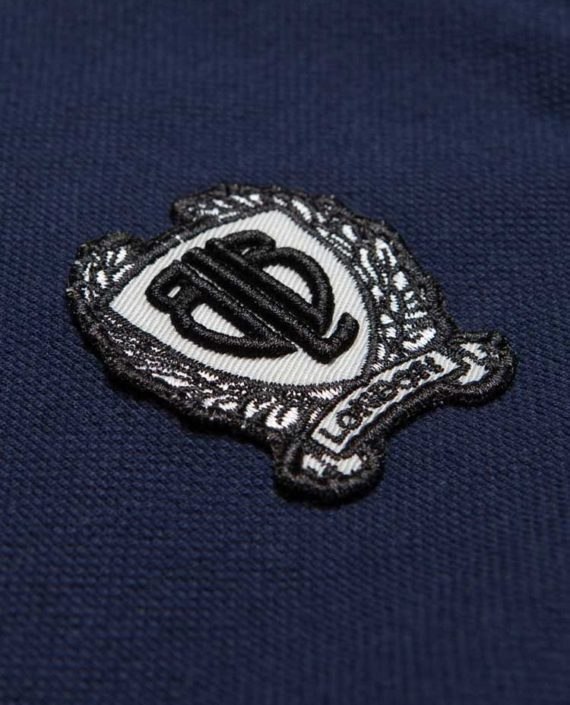 BLB SMALL BADGE Polo Shirt Navy – For Him