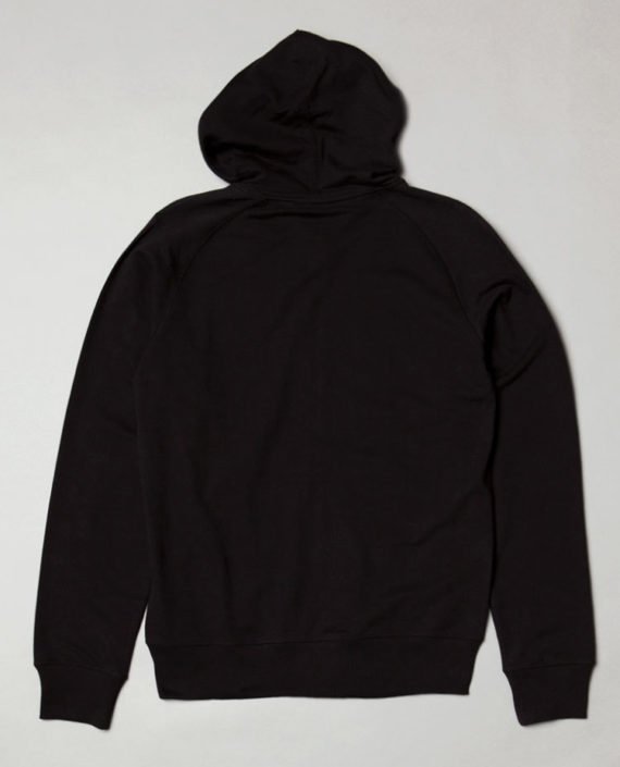 BLB BADGE FULL ZIP Hoodie Black – For Him