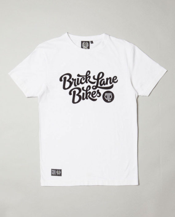 BLB FLOCK SCRIPT T-Shirt White – For Him