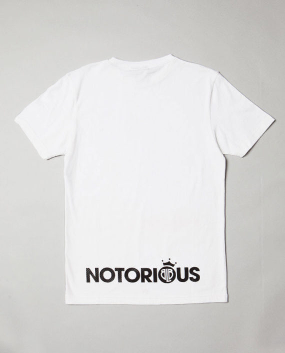 BLB NOTORIUS T-Shirt White – For Him