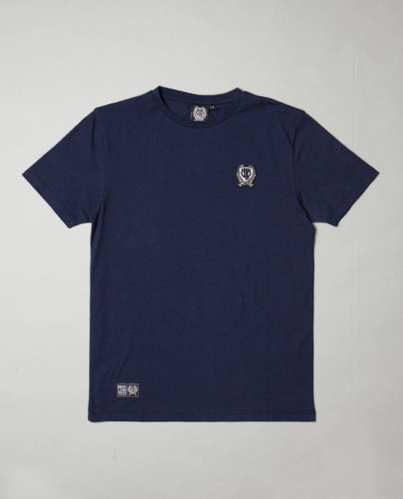 BLB SMALL BADGE T-Shirt Navy – For Him