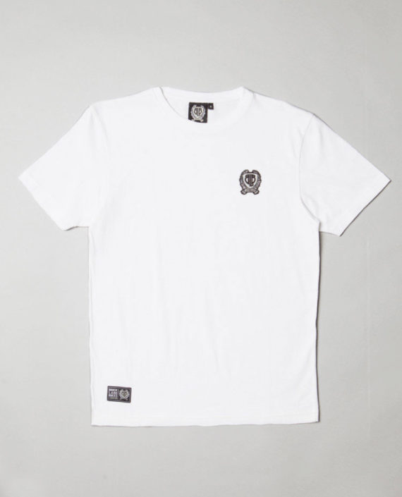 BLB SMALL BADGE T-Shirt White – For Him