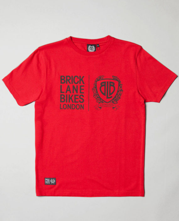 BLB TWIN LOGO T-Shirt Red – For Him