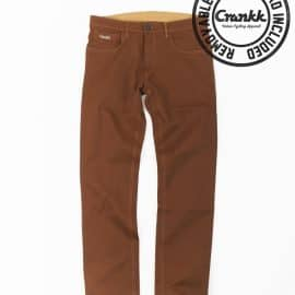 straat-brown-Padded Cycling Pants